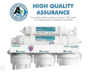 APEC ROES 50 Water Filter Assurance