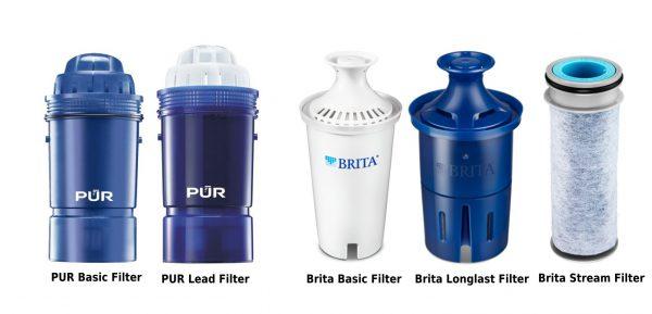 PUR and Brita Pitcher Cartridge