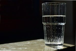Water In Transparent Glass