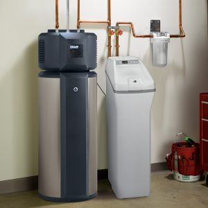 water softener with installation