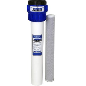 Aquios Water Softener in a white background