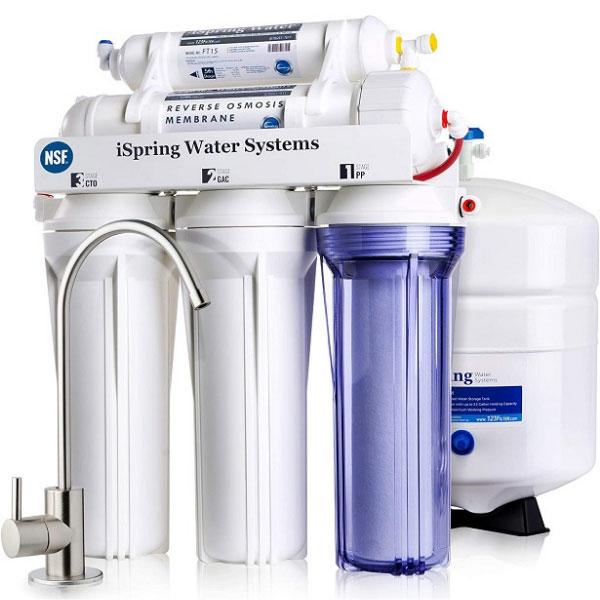 One of the 6 different types of water softeners-reverse osmosis