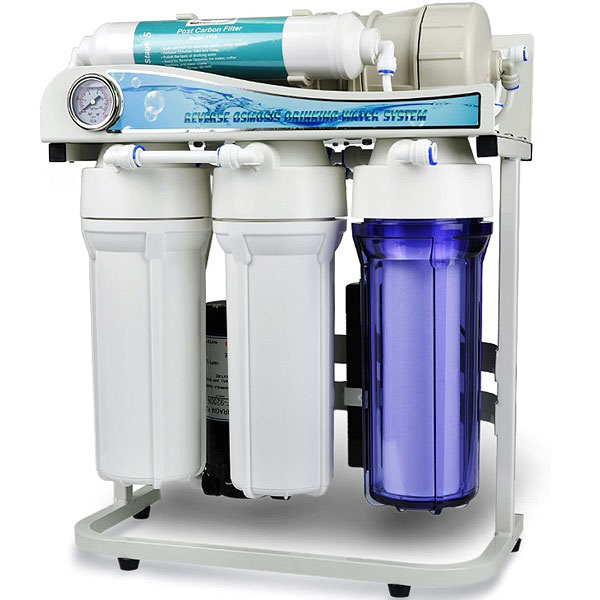 One of the Best whole house reverse osmosis system on a table