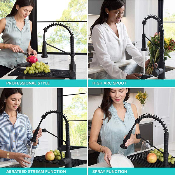 One of the best pull down kitchen faucet's styles and benefits in the frames