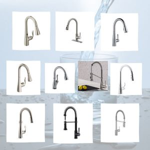 Ten best pull down kitchen faucets in the frames